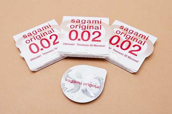 tính năng Bao cao su Sagami Original 0.02