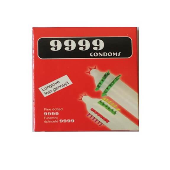bao cao su 9999 gai mềm, còn được gọi là bao cao su 999 hoặc 99