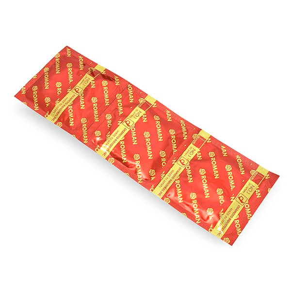 Bao cao su Okamoto Roman dập nổi có gân gai (10 chiếc)