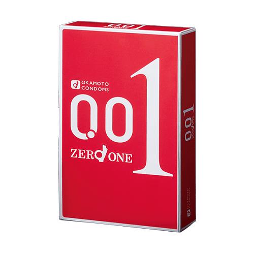 Bao cao su Okamoto 0.01 Zero One siêu mỏng (10 chiếc)