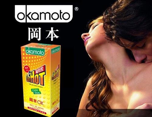 công dụng bao cao su có gai Okamoto Dot De Hot