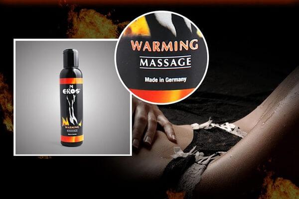 Dầu massage Eros Warming