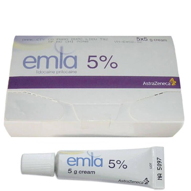 Emla 5% – Gel Emla ngăn xuất tinh sớm cho nam giới