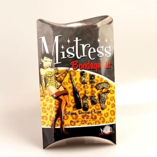 Bộ đồ chơi tình dục Mistress Bondage Kitmàu da báo