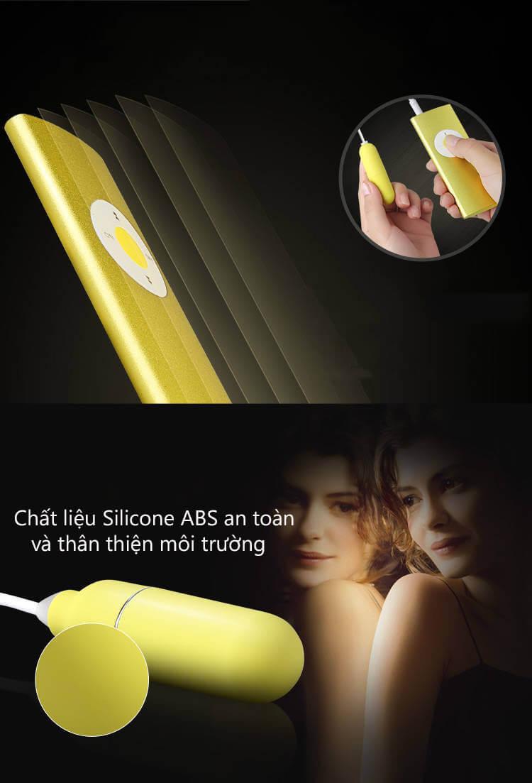 sản phẩm được làm từ Silicon ABS an toàn