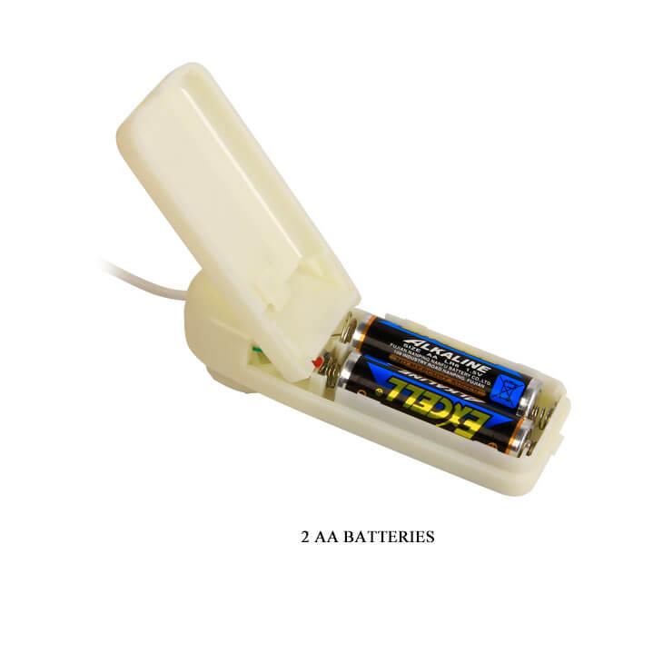Pin sử dụng cho dương vật giả có dây đeo đặc ruột
