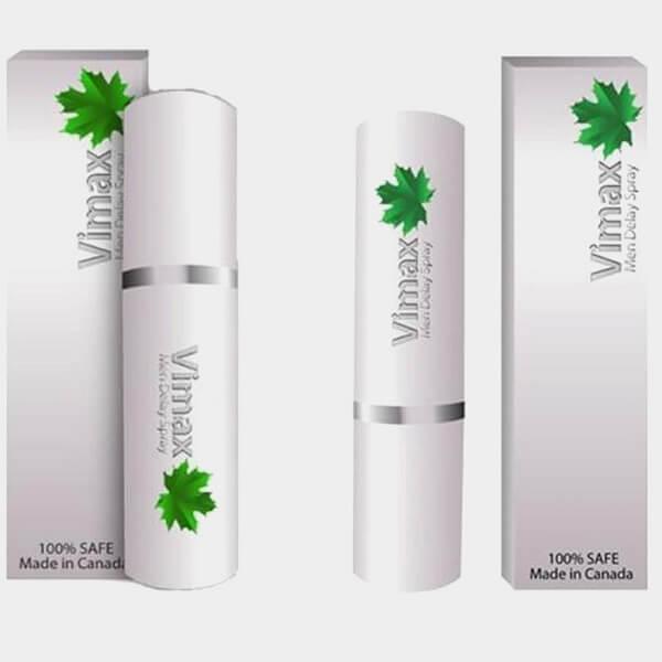 Chai xịt kéo dài thời gian Vimax Man Delay Spray bằng thảo dược
