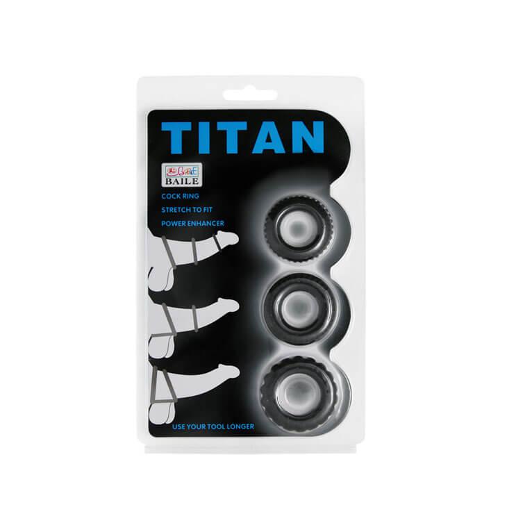 Vòng găng đeo dương vật titan chống xuất tinh sớm, kích thích phụ nữ