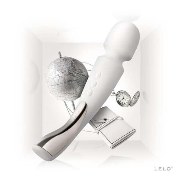 Cách tự sướng cho nữ bằng máy mát xa Lelo Smart Wand Ivory