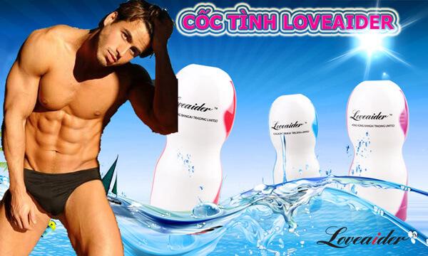 cốc thủ dâm Loveaider chống nước 100%