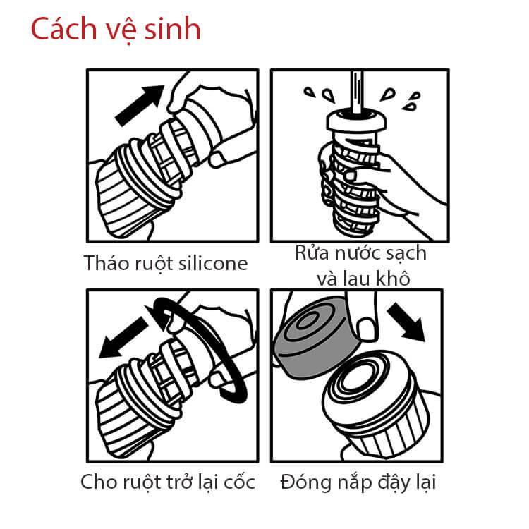 cách vệ sinh cốc thủ dâm tenga