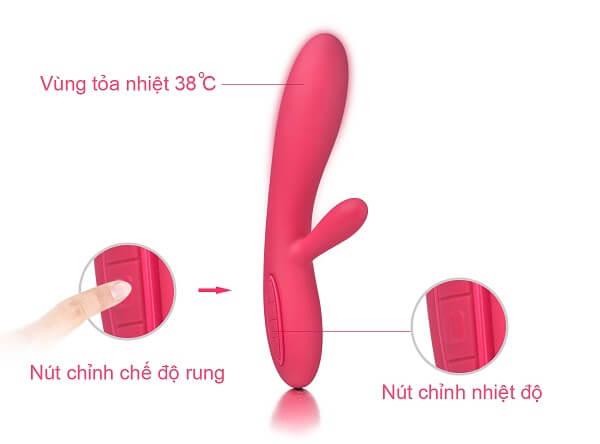 đồ chơi tình dục Savakom Lester tính năng nổi trội