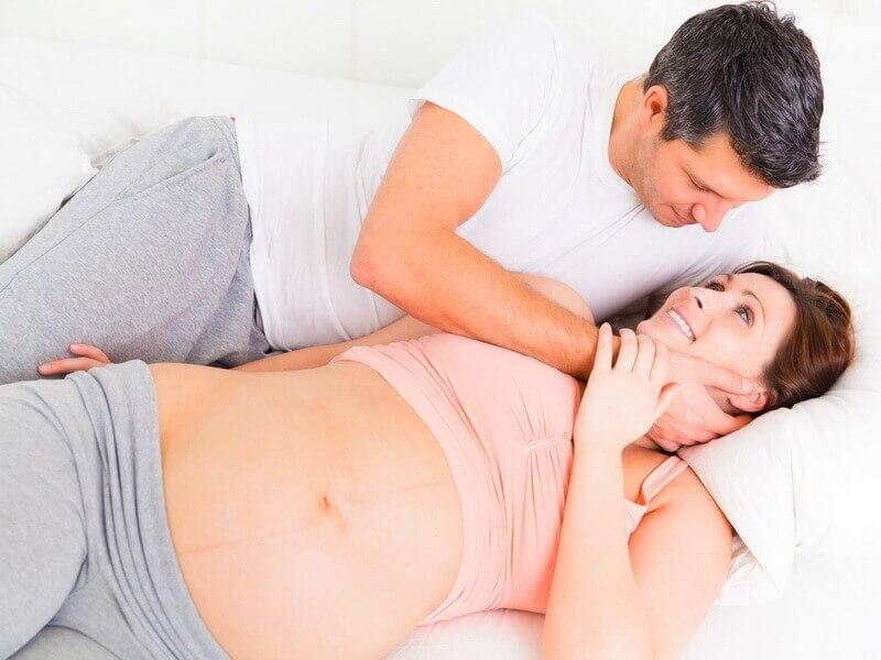 quan hệ khi mang thai