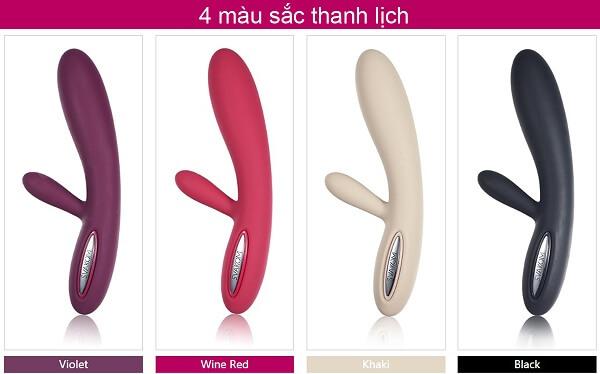 đồ chơi tình dục Svakom Lester có 4 sắc màu tuyệt đẹp