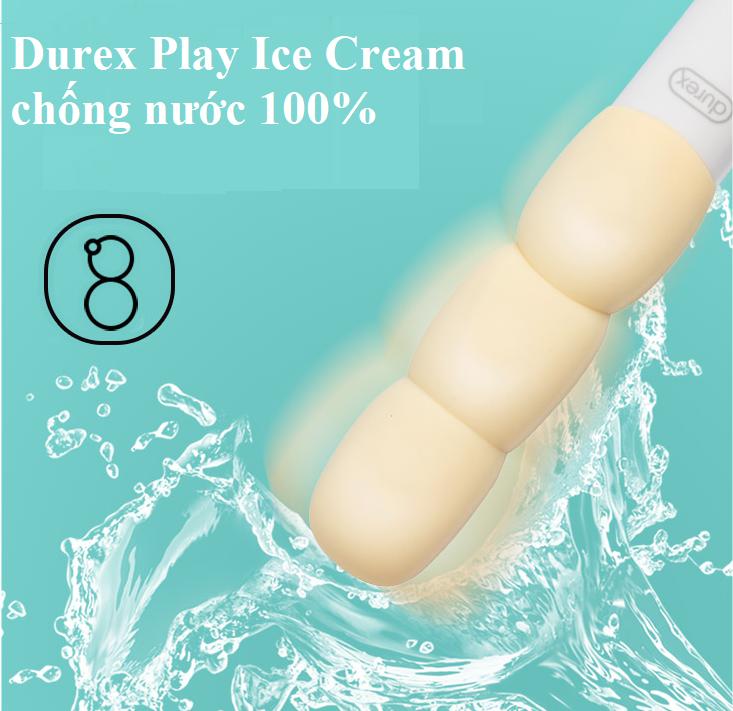 durex ice cream chống nước hoàn toàn