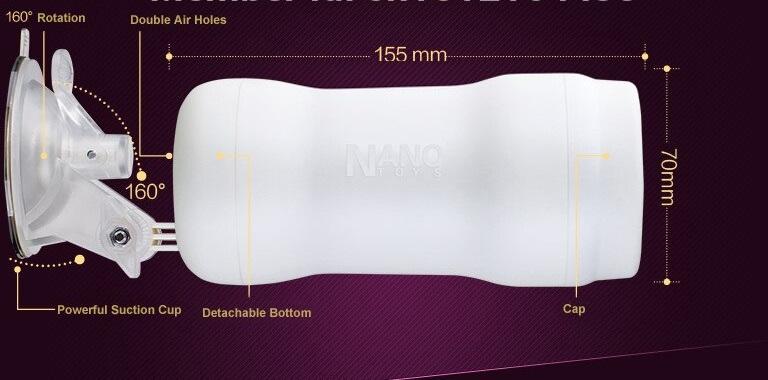cốc thủ dâm nano kích thước