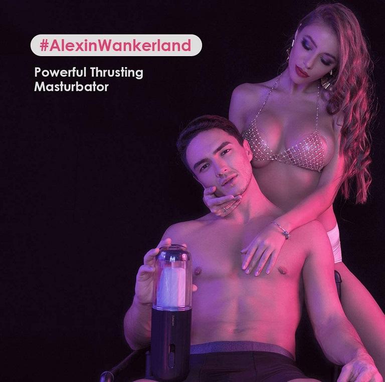 Svakom Alex chính hãng tự động rung thụt đẳng cấp sang trọng